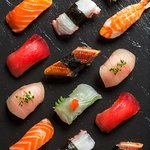 Nigiri selection