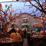 Interior del restaurante Casa Luna