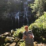 one of the waterfall on the Kohala Waterfall Adventure