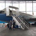 Air Force One - and you can walk through!