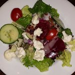 Salad from the unlimited salad bar ($2.99 extra with entree)