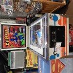 themed pinball display
