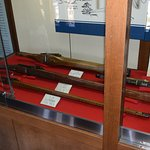 A sample of guns used by the samurais