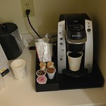 Coffee Nook. Good selection of K cups