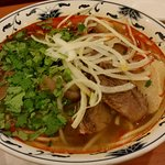 Bun Bo Hue (Lemon Grass Noodles with Beef Shank & Ham Hock)