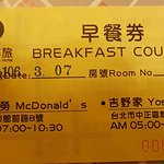 Hotel Daily Breakfast Voucher