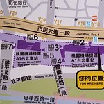 Taipei Airport Express MRT Station A1 Map