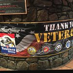 Proudly supporting our Veterans