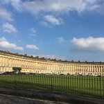 """Royal Crescent from the """"left"""" side"""