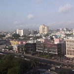 View of Chennai city.
