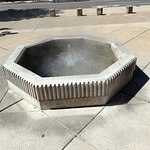 One of the hot spring fountains