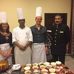 Here are a few photos of the amazing staff at Yje Taj SMS hotel.