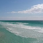 The gorgeous waters of the Gulf in Destin, Florida