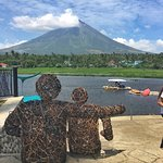 Mt Mayon is breathtakung beautiful . Enjoy Her when you see her uncovered with clouds. Second ph