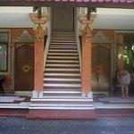 Old Bali decor. Perfect.
