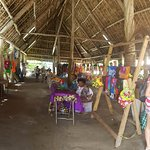 The markets. At the end of the hut you can get your passport stamped officially for a few dollar