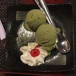 matcha ice-cream