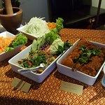 Vegan food at Soi Saam thai restaurant in Drammen