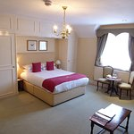 "Vast bedroom ""Earl of Nottingham"""
