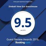 2016 Booking.com 9.5 Rating AWARD
