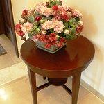 Flower Bouquet Decoration in the 2nd Floor Corridor