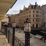 Výhled z terasy hotelové restaurace, Astoria