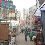 Temple Street Night Market Foto