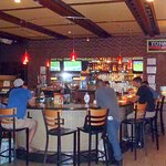 the bar at Torn Basil Pizza