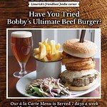 Bobbys Ultimate Beef Burger