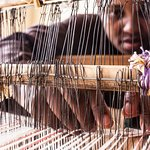 Learn how to weave on our loom
