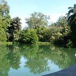 Vista do lago a partir da galeria Tunga