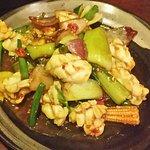 Sambal sotong! So tender and tasty.