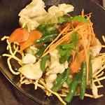Chicken chow mein. Value for money!