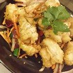 Salt pepper calamari! Do try!