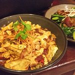 Mapo tofu amazing and bbq pork.