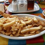 First class fish and chips