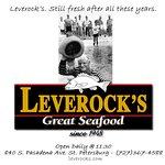 Leverock's ad