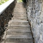 stairs leading to Piton rooms.