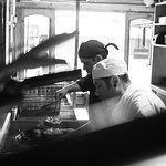 Nuestros cocineros en acción.