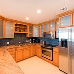 Fully equipped gourmet kitchens