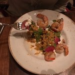 Shrimp and grains