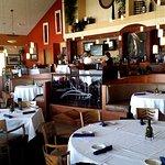 Bayfront Bistro inside dining and bar.