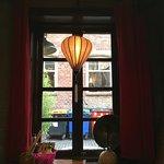 Window onto Ruthven Lane
