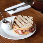 Rare Breed Bacon Sandwich