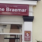 The front of the Braemar