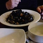 Craft beer and mussels