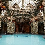 Grotto style pools in The Spa at The Omni Grove Park Inn