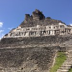 Xunantunich Myan Ruins Ruins with lunch
