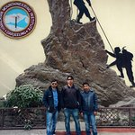 At Mountaineering Institute