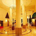 The quiet lobby